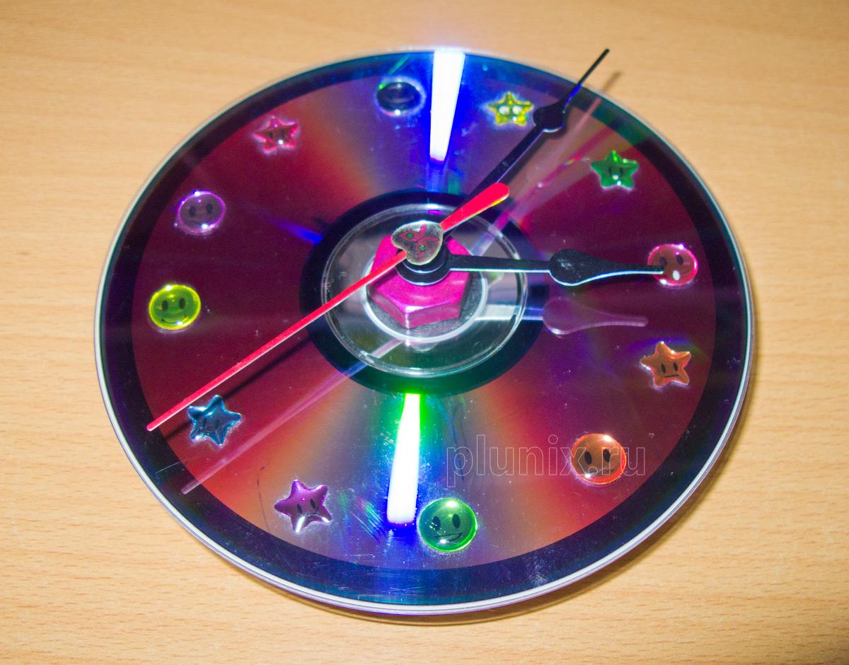 Поделки из dvd дисков своими руками мастер класс