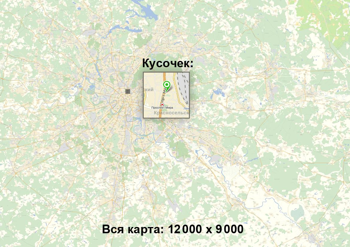 Карта компьютера для яндекс
