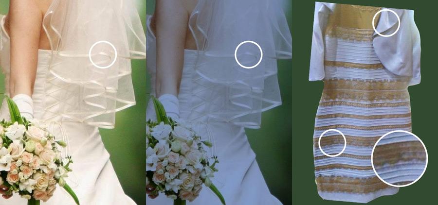 Бело-золотое платье :)