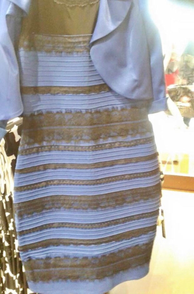 сине-черное платье фото