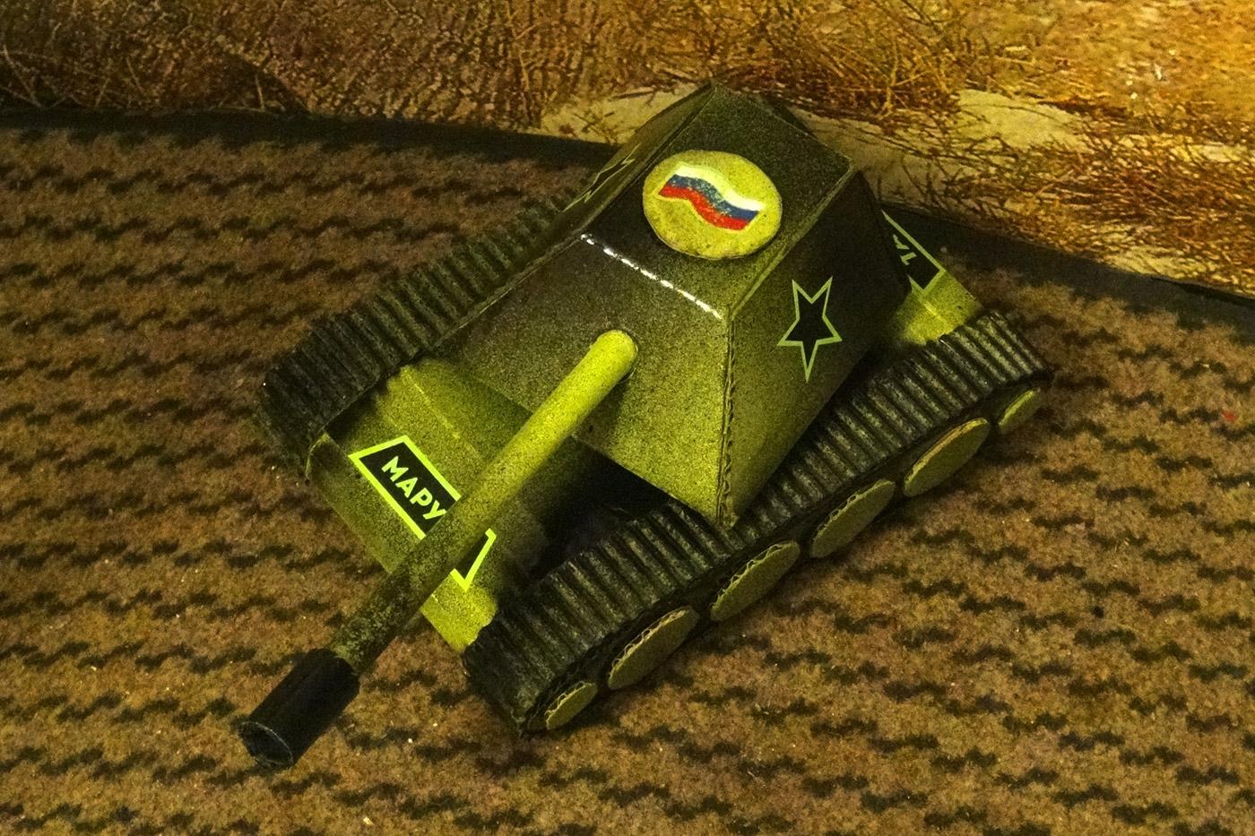 Как сделать танк 42