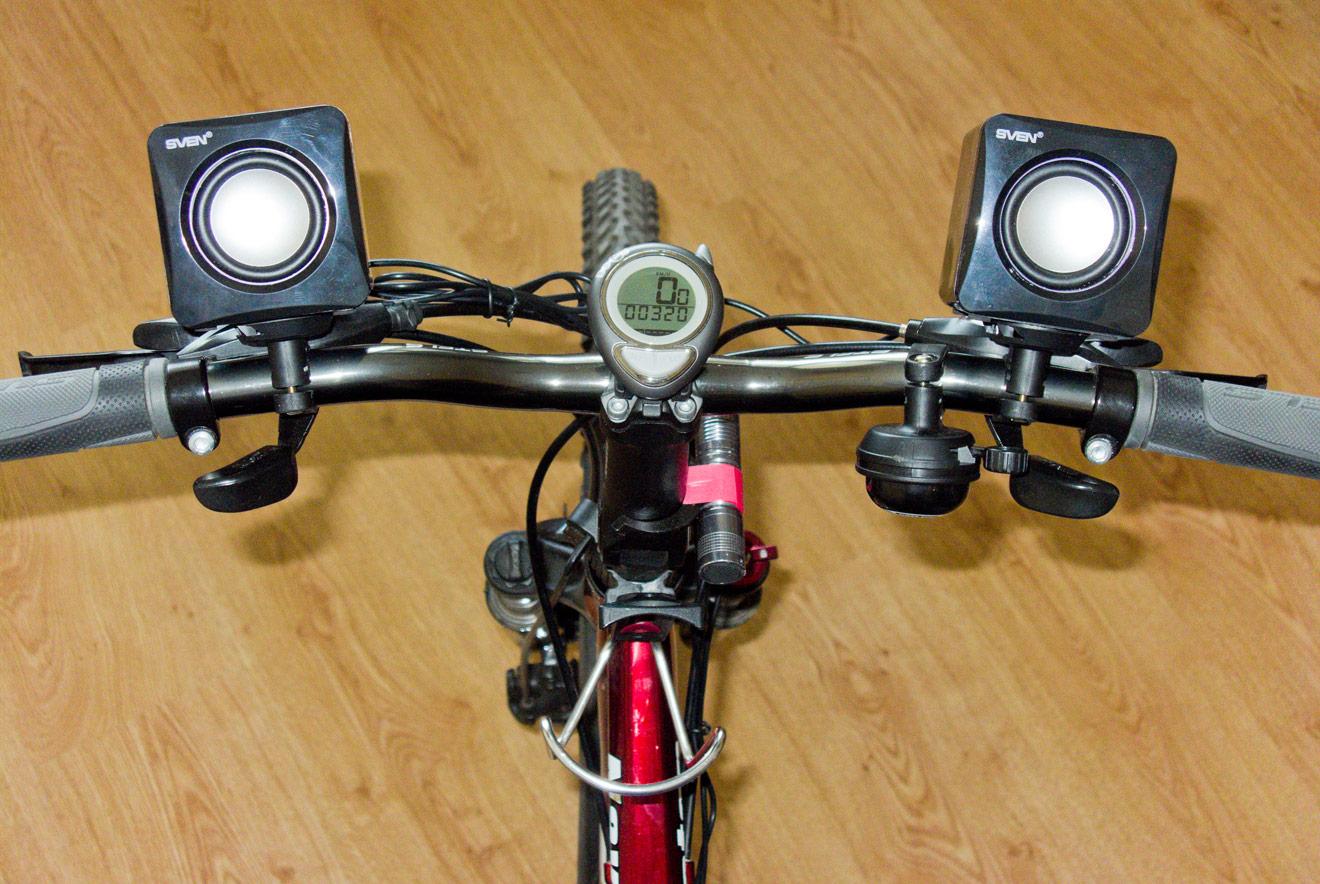 Велоакустика: делаем колонки на велосипед