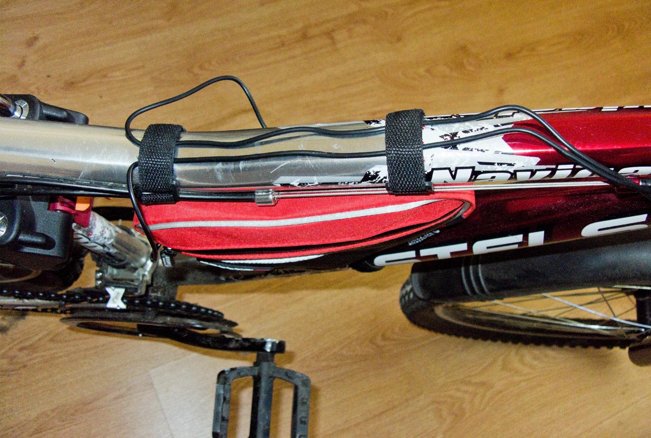 Как сделать колонку на велосипед фото 480-50